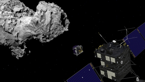 According to current theories oxygen should not exist on its own in such quantities around a comet