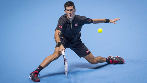 Novak Djokovic eased past Marin Cilic