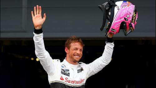 Button and McLaren haven't won a grand prix since 2012