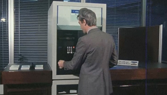 AIB Self-Service Bank Machine, 1979