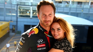 Geri and Christian Horner welcome baby boy