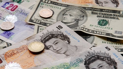 Sterling outperformed other major currencies today