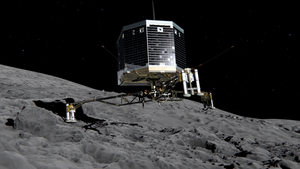 'Philae' tweeted: 'I might take a nap'