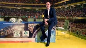 Damien O'Meara at the Aviva stadium