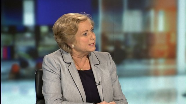 Frances Fitzgerald was speaking on tonight's Six One news