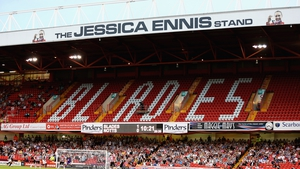 A general view of the 'Jessica Ennis' Stand