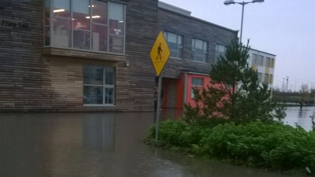 Audrey Byrne sent in this picture of St Luke's National School in Tyrellstown