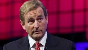 Taoiseach Enda Kenny was given a Lifetime Achievement Award in Manhattan