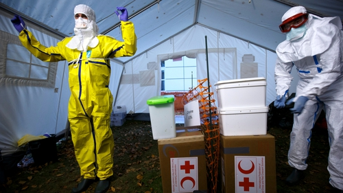 The fatality rate for Ebola is around 70%