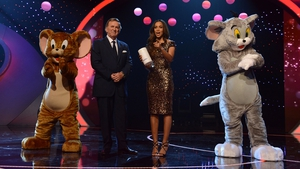 Wogan with Rochelle Humes at Children in Need