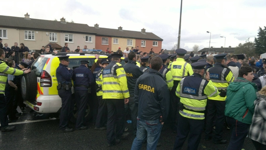 Jobstown decision 'attack on the right to protest'