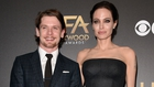 Jack O'Connell and Angelina Jolie
