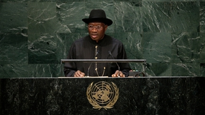Nigeria's President Goodluck Jonathan has vowed to defeat the Islamist militants