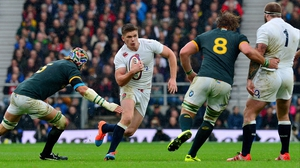 England fly-half Owen Farrell may be a doubt for the Six Nations opener after getting injured for his club Saracens