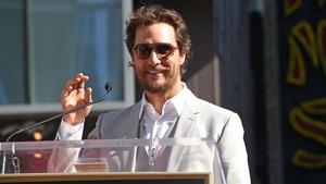 McConaughey - Giving back