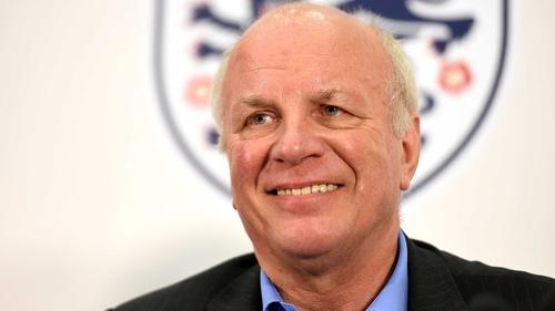 Greg Dyke replaced David Bernstein as FA chairman in 2013
