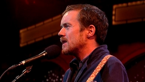 Damien Rice performs on David Letterman last month