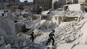 The Aleppo death toll of 506 includes 23 children