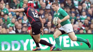 Gordon D'Arcy has once more been omitted from the Ireland training squad