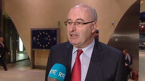 EU Commissioner Phil Hogan said the UK cannot be allowed to 'cherry-pick' the single market