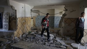The home of Abdelrahman Shaludi was destroyed by Israeli forces