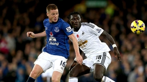 James McCarthy is a doubt for Everton's league clash with West Ham