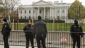 An Iowa man is being held after driving to White House with a gun, ammunition and a knife in his car