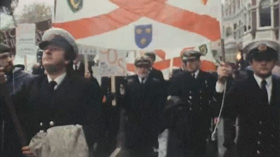 Irish Shipping Protest