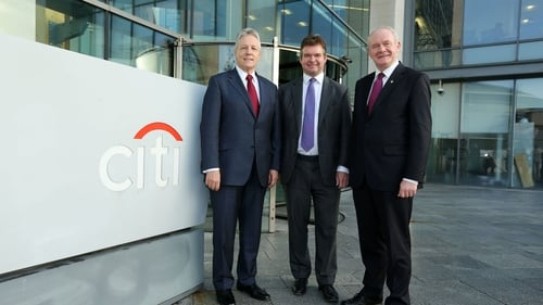 Citi has been based in Belfast since 2004 and already employs 1,500 there
