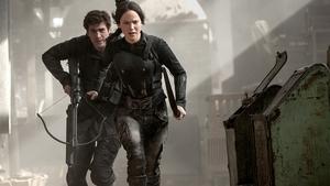 Jennifer Lawrence returns as Katniss Everdeen
