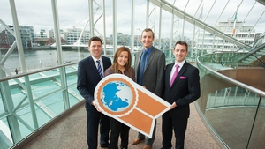 Bank of Ireland's Kevin Healy,  Dawn Walsh, Kernel Capital; Giles O'Neill from Enterprise Ireland & Michael Brophy, CEO of Certification Europe