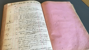 The logbook may have been rescued from a skip after it was discarded in the 1930s