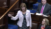 Joan Burton was responding to comments made at a PAC meeting this week dealing with NAMA