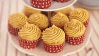 Salted Caramel Cupcakes - It's the combination...