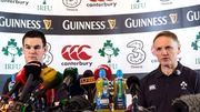 LIVE: Ireland team announcement