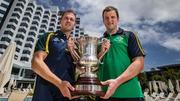 Ireland currently hold the Cormac McAnallen Cup