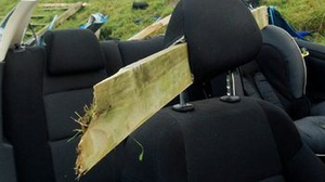 The PSNI published the image with the driver's permission