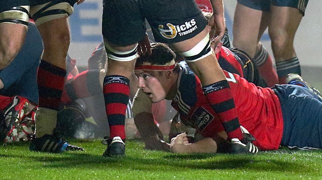 Munster tame Dragons with five tries