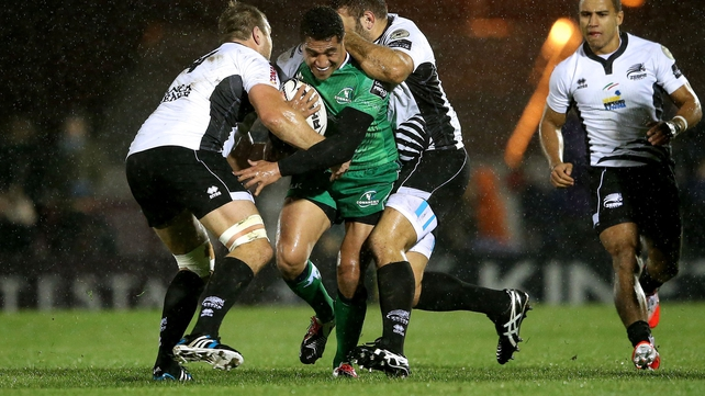 Connacht breeze past Zebre in Galway