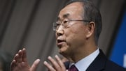 Ban Ki-Moon said the rate of new cases was slowing in parts of West Africa