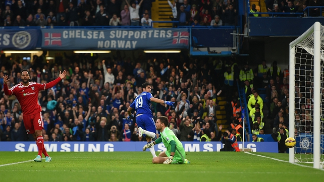 Early goals secure another Chelsea victory