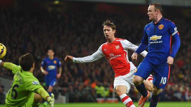 Man U claim victory over old enemy Arsenal