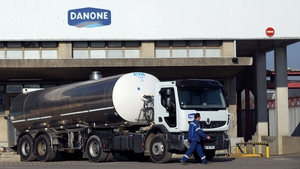 Danone said today it was keeping its full year financial goals