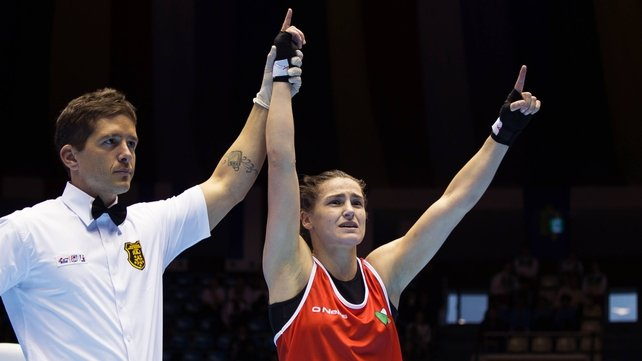 Katie Taylor triumphs at the National Stadium