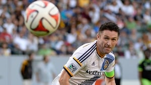 Robbie Keane was an 82nd minute substitution.