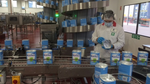 Danone said its number of employees in Ireland will soon stand at 400