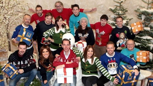 Larry and his 2fm colleagures launch the Give a Gift campaign