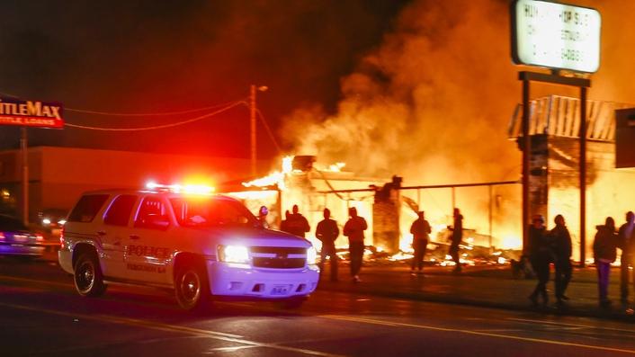Ferguson decision sparks riots