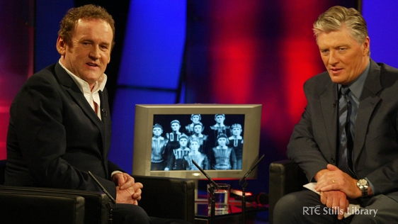 Colm Meaney on 'The Late Late Show' with Pat Kenny. © RTÉ Archives 3027/056