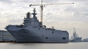The Mistral-class assault warship Sevastopol